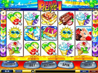 Beach Life Progressive Slot at Europa Casino