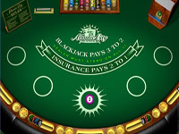 Blackjack at Roxy Palace Casino