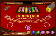 Play Online Blackjack Now at Rushmore Casino!