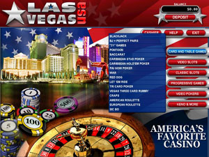 Las Vegas USA Casino Lobby Screenshot