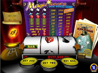 Magic Slot Progressive at Europa Casino