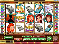 Reel Deal Bonus Game at Golden Casino