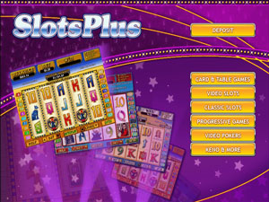 Slots Plus Casino Lobby Screenshot