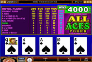 Play Video Poker at All Jackpots Now!