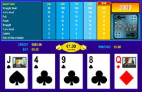 Play Tens or Better Video Poker Now!